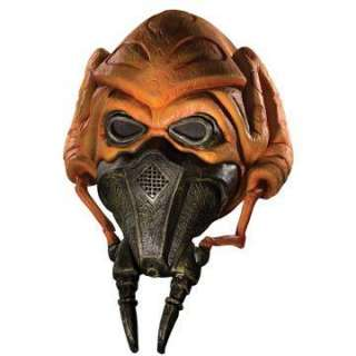 Star Wars Clone Wars 3/4 Vinyl Plo Koon Mask Child   Includes Mask