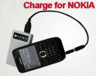 Portable Backup Battery Charger for PDA Cell Phone  Player