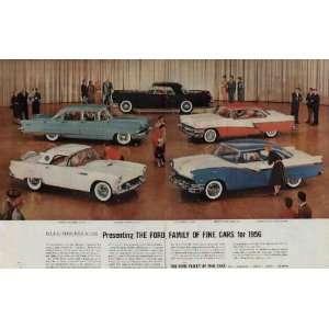 , FORD FAIRLANE VICTORIA. .. 1956 Ford Motor Company Ad, A4310A