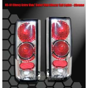Chevy Astro Van Tail Lights Chrome Clear Altezza Taillights 1985 1986