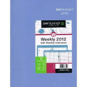 Day Runner Weekly 2012 w monthly Calendars Planner 840G