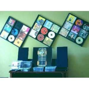 The Billboard CD/ DVD Wall Storage/ Display Frame