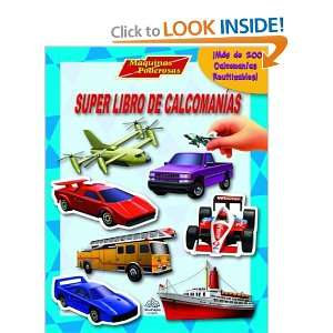 Super libro de calcomanias Maquinas poderosas Super Sticker Book