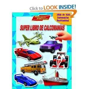 Super libro de calcomanias Maquinas poderosas Super Sticker Book