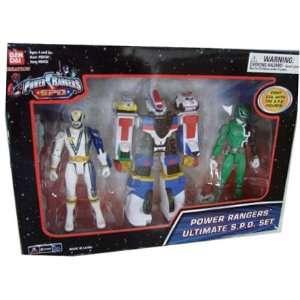 Power Rangers S.P.D.   Ultimate Action Figure Set Toys & Games