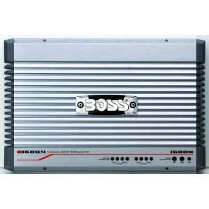 BOSS ONYX N1600.4 1600 Watts 4 Channel Mosfet Power Amplifier