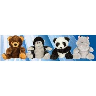 Forest Animal Plush Hand Puppets Kellytoy Raccoon Wolf Brown Bear