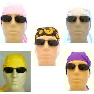 Ladies Bikers Caps/ Head Wraps/ Medical Caps/ Skull Caps/ Bandanas