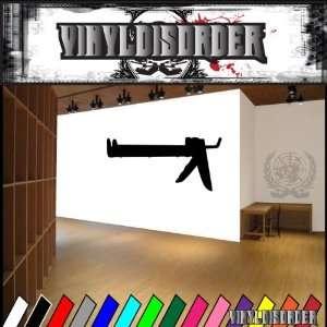 Tools Caulk Gun NS001 Vinyl Decal Wall Art Sticker Mural