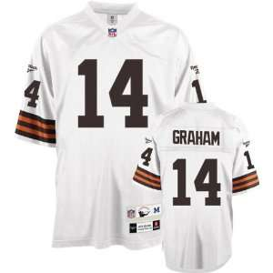Otto Graham Cleveland Browns White Throwback Jersey