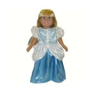 American Girl Doll Clothes Doll Blue Princess Outfit Toys