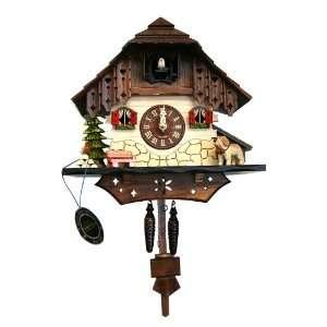 German Cuckoo Clock   Saint Bernard
