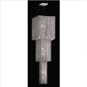 Lighting Ceiling Pendants 288 84 FL AB Flint Aurora Borealis Crystal