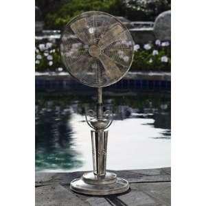 Style Deco Adjustable Outdoor Standing Floor Fan