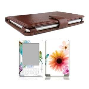 Leather Case Cover Jacket + Skin Sticker + Screen Protector Ebook