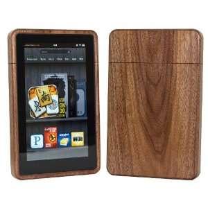 Wood Kindle Fire Case Exotic Walnut Electronics