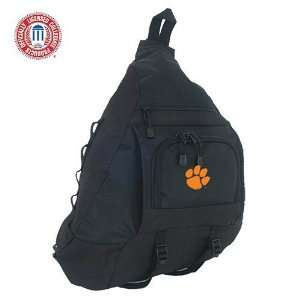 Mercury Luggage Clemson Tigers Black Sling Bag