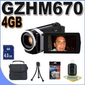 JVC Everio GZ HM670 32GB Full HD Memory Camcorder (Black) BigVALUEInc