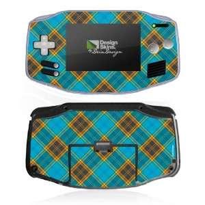 Design Skins for Nintendo Game Boy Advance   Tartan plaid
