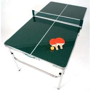 EARTH Mini Ping Pong Table w/ Double Laminated SMOOTH Top  Unique