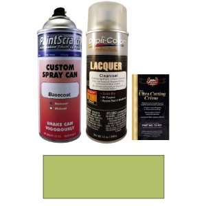 12.5 Oz. Gecko Green Pearl Spray Can Paint Kit for 2009 Volvo C30 (488