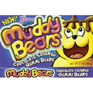 Taste of Nature Muddy Bears Chocolate Covered Gummi Bears 3.1 Ounce