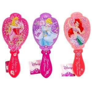 Disney Princess Aurora Cinderella & Ariel Hair Brush Set of 3! Beauty