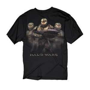 Halo 3 Three Soldiers Faded Tee T Shirt