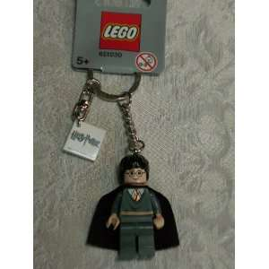 Stripe Key Chain (#851030) with Harry Potter logo tile!: Toys & Games