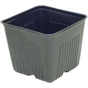 Plastic Dura pot 4 in (Grower Pack of 24) Patio, Lawn