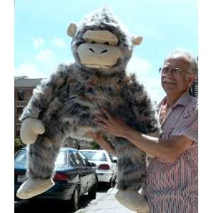 GIANT STUFFED 40 PLUSH HUGE MONKEY CHIMP CHIMPANZEE