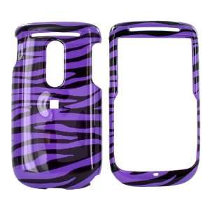 For TMobile Dash 3G S522 Hard Case Purple/Black Zebra
