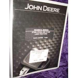 John Deere STX30/38/46 Tractors OEM Service Manual John Deere Books