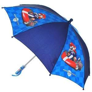 Wii Super Mario Brothers Mario Kart Kids Umbrella Toys & Games