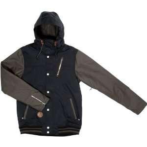 Holden Varsity Jacket  Black / Flint XX Large Sports