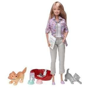 Barbie   Forever Barbie   Pet Doctor Barbie Doll Toys & Games
