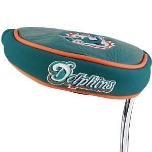 NFL Miami Dolphins Mallet Putter Cover