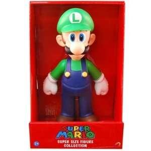 Super Mario 9 Inch Vinyl Figure   Luigi Toys & Games
