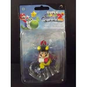 Super Mario Galaxy 2 Mini Figure Keychain Bee Mario Toys & Games