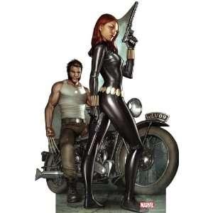 Wolverine & Black Widow (Marvel Comics) Life Size Standup