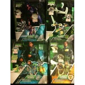 Max Steel 12 Inch Set of 4 Figures Turbo Mission