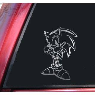 Sonic Hedgehog Car Window Laptop Vinyl Decal Sticker