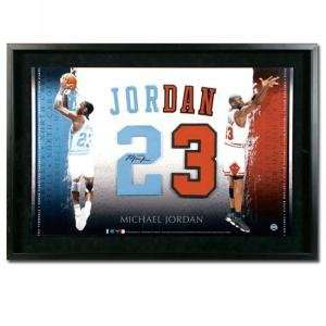 Michael Jordan Autographed University of North Carolina/Chicago Bulls