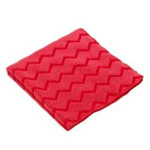 Hygen Microfiber Cleaning Cloths, Red Case Pack 12 Arts