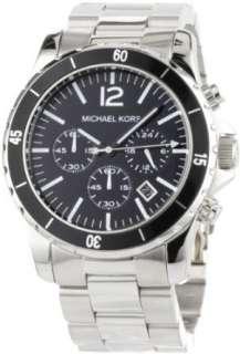 Michael Kors Watches Michael Kors Mens Silver & Black