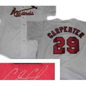 Chris Carpenter St. Louis Cardinals Autographed Jersey