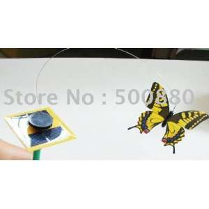 9 sets / lot new model high quality solar butterfly solar