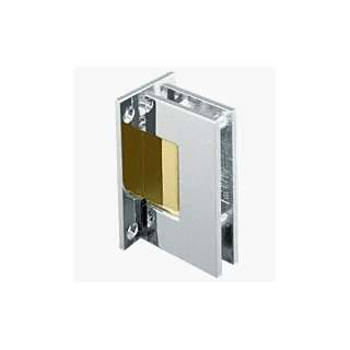 Nickel with Brass Accent Wall Mount Full Back Plate Standard Hinge