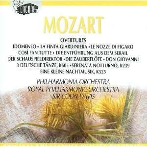 Mozart: Overtures, Eine Kleine Nachtmusik, German Dances