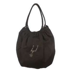 San Antonio Spurs Canvas Tote Bag with Crystal Team Logo